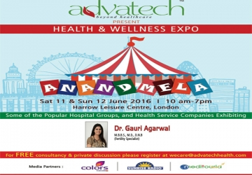 Anand Mela in Harrow, London