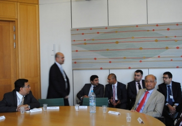 Taking Indian healthcare service provider to British Parliament to have a strategic meeting with Keith Vaz MP