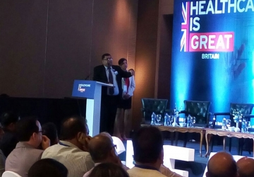 NHS Chairman visit to India