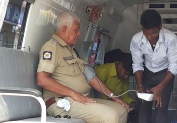 Corporate Social Responsibility with Various Camps in Katwa, Kolkata