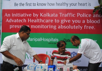 Corporate Social Responsibility with Various Camps in Katwa, Kolkata